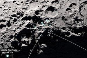 Mặt trăng có thể thành nơi ở mới của loài người vì có sự tồn tại của nước