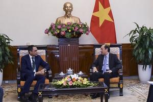 Thứ trưởng Ngoại giao Nguyễn Quốc Dũng gặp Đại sứ Malaysia về vụ Đoàn Thị Hương