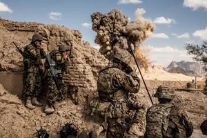Hơn 30 phiến quân ở Đông Nam Afghanistan bị tiêu diệt