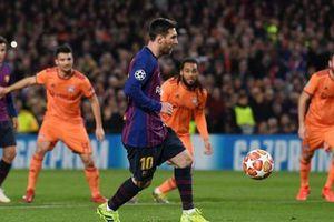 Hạ Lyon, Barcelona ghi tên mình vào vòng 8 đội mạnh nhất châu Âu