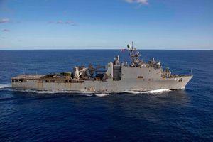 Tàu chiến Mỹ 2 tháng không được cập bờ vì dịch bệnh