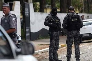 Xả súng trong trường tiểu học ở Brazil, 27 người thương vong