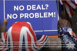Liên minh châu Âu khuyên Quốc hội Anh phê chuẩn thỏa thuận Brexit