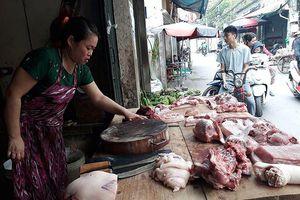 Sức tiêu thụ thịt lợn ở Hà Nội giảm do dịch tả lợn châu Phi