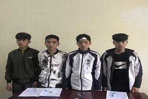 4 nam sinh lớp 10 bỏ trốn sau khi gây tai nạn chết người