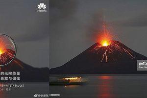 Dùng ảnh chụp từ máy DSLR để quảng bá cho Huawei P30: mục đích là gợi ý