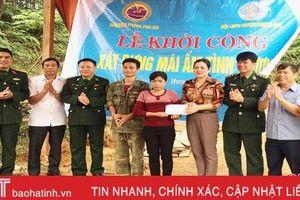 Khởi công mái ấm tình thương cho phụ nữ vùng biên ở Hương Khê