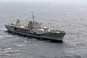 Tàu chỉ huy hiện đại nhất của Hải quân Mỹ thăm Manila