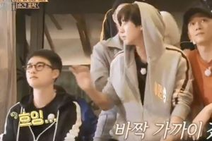 Chanyeol vô tình cho D.O 'ăn' cùi chỏ, được Lee Seung Gi gọi là 'hyung'