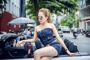 Hot girl Trâm Anh: Lấy đại gia có nhiều tiền để làm gì?