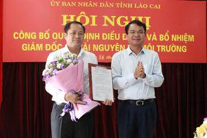 Tỉnh Lào Cai công bố quyết định bổ nhiệm Giám đốc Sở Tài nguyên và Môi trường