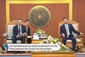 Việt Nam mong muốn các DN Hoa Kỳ hỗ trợ trong kiểm soát môi trường ứng phó với BĐKH