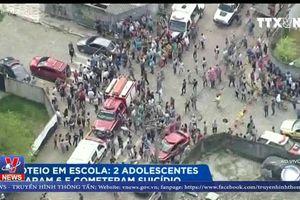 Xả súng đẫm máu tại trường học ở Brazil