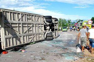 Ngã ba nhiều tai nạn trên đường Hồ Chí Minh