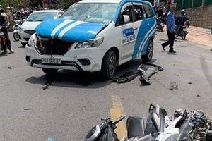 Tài xế nghi 'ngáo đá' náo loạn đường phố Đà Lạt, 3 người bị thương