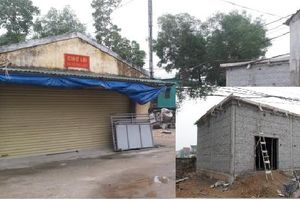 Doanh nghiệp ngang nhiên xây chợ trái trái phép ở Hà Tĩnh