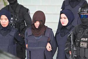 Đoàn Thị Hương khóc nghẹn ngào vì kết quả phiên tòa xét xử sáng 14/3