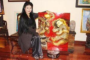 Người vẽ tranh tặng hai phu nhân Mỹ - Triều