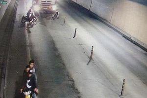 Truy tìm nhóm côn đồ chặn đánh xe tải trong hầm Phước Tượng