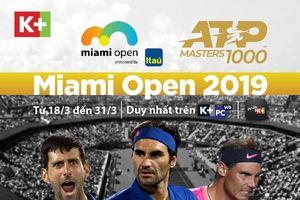 K+ mua độc quyền 9 sự kiện thuộc giải ATP World Tour series 5 mùa giải từ 2019 - 2023