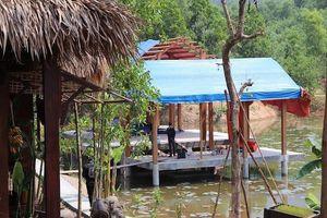 Khu nghỉ dưỡng trái phép xây trong rừng phòng hộ