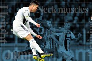 Ronaldo thành vua đánh đầu nhờ cú bật nhảy phi thường