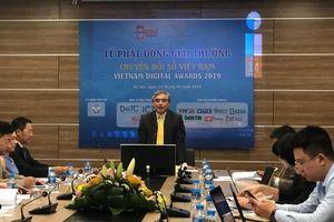 Phát động giải thưởng Chuyển đổi số Việt Nam 2019
