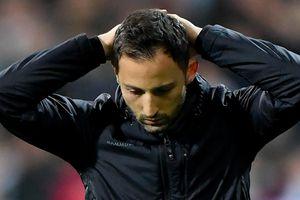 HLV Schalke trả giá vì để đội nhà thua Man City 10 bàn