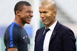 HLV Zidane: 'Tôi rất vui nếu được huấn luyện Mbappe'
