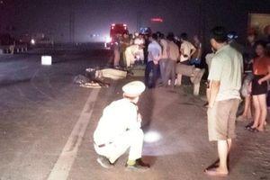 Hà Tĩnh: Va chạm với xe khách, nam thanh niên tử vong tại chỗ