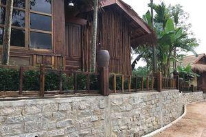 Sẽ cưỡng chế để phá dỡ khu nghỉ dưỡng 'chui' tại khu vực rừng phòng hộ