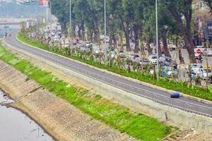 Ảnh, clip: Con đường 4km dọc sông Tô Lịch chỉ để đi bộ và đạp xe