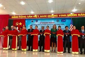 Khánh thành Văn phòng đáp ứng khẩn cấp sự kiện y tế công cộng khu vực miền Trung