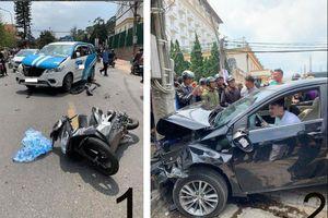 Nóng trên mạng xã hội: Bức xúc tài xế 'phê' gây tai nạn liên hoàn