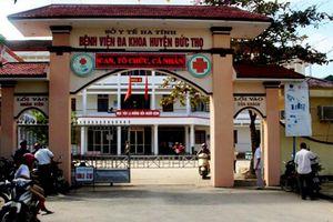 Phó giám đốc bệnh viện huyện ở Hà Tĩnh chết trong tư thế treo cổ