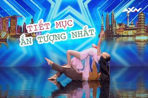 Đôi vũ công nhí Việt Nam gây ấn tượng tại bán kết Asia's Got Talent