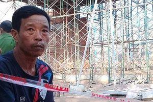 Người đàn ông thất thần kể phút suýt bị tường sập đè chết ở Vĩnh Long