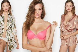 Siêu mẫu Josephine Skriver gợi cảm hút mắt với nội y Victoria's Secret