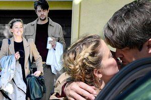 Vợ cũ Johnny Depp ôm hôn tình mới trên phố