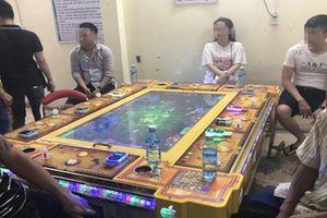 Xóa ổ game bắn cá, cờ bạc trá hình