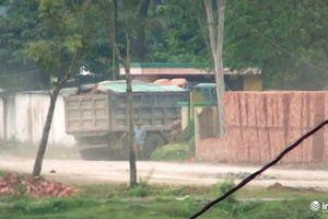 Nghệ An: Thực hư DN lợi dụng thi công đập Me để chở đất đi bán cho lò gạch?
