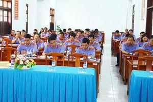 VKSND tỉnh Bình Phước tổ chức hội nghị tập huấn công tác xét xử án hình sự.