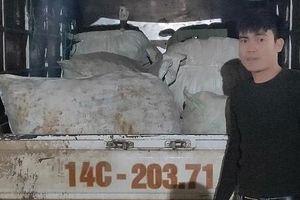 Quảng Ninh: Lại bắt ô tô vận chuyển hơn 1,8 tấn ba kích không rõ nguồn gốc