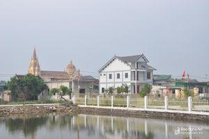 Sáng đẹp xóm đạo nơi giáo đường Tân Yên