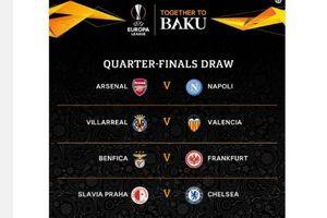 Bốc thăm Europa League: Chelsea cười, Arsenal mếu