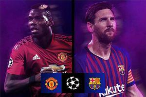 Bốc thăm tứ kết Champions League: M.U đụng Barca