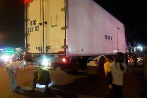 Xe tải ôm cua cán bé gái 14 tuổi tử vong