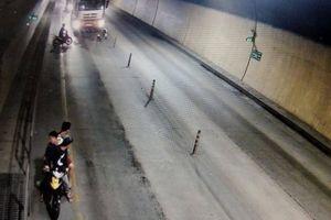 Truy tìm nhóm thanh niên hung hãn chặn, chém xe tải trong hầm Phước Tượng