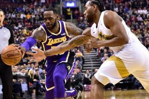 LeBron James bất lực, Lakers cúi đầu rời 'Hang khủng long'