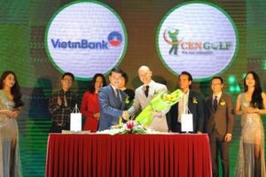 VietinBank cùng CenGroup triển khai ứng dụng công nghệ cho làng golf Việt
